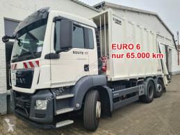 Camion de colectare a deşeurilor menajere MAN TGS 26.320 6x2-4 BL 26.320 6x2-4 BL, Lenkachse, Zöller Medium X2E23, Zöller-Schüttung
