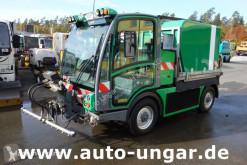 Camion cu echipament de spălat străzi Boschung Pony P4T 4x4x4 mit Waschaufbau - Schwemmfahrzeug - Kipper - Allr