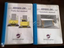 Voir les photos Engin de voirie Broddson Broddway Scandia elevator sweeper kehrmaschine