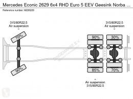 Vedere le foto Veicolo per la pulizia delle strade Mercedes Econic 2629