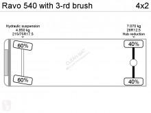 Voir les photos Engin de voirie Ravo 540 with 3-rd brush
