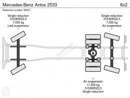 Vedeţi fotografiile Utilaje pentru drumuri Mercedes Antos 2533