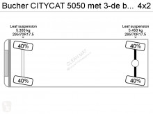 Voir les photos Engin de voirie Bucher Schoerling CITYCAT 5050 met 3-de borstel
