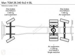 Voir les photos Engin de voirie MAN TGM 26.340
