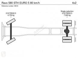 Voir les photos Engin de voirie Ravo 580 STH 80 km/h