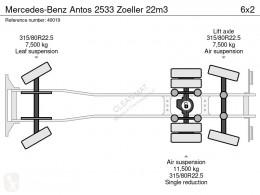 Vedere le foto Veicolo per la pulizia delle strade Mercedes Antos 2533