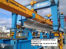 Cimolai M S T 50 T bridge crane used