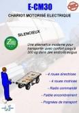 empilhador autoguiado Hydrosystem CHARIOT ELECTRIQUE MOTORISE E-CM30