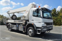 Wumag truck mounted WT 300 on Mercedes 4x4