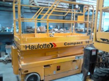 Haulotte Compact 10 N Compac 10 aerial platform used Scissor lift self-propelled