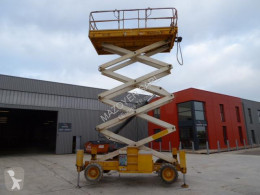 Haulotte H15 SX-NT aerial platform used Scissor lift self-propelled