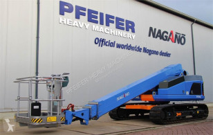 Nagano S15AUJ Tracked Boomlift, 15 m Working Height, Rubb plataforma sobre cadenas usada