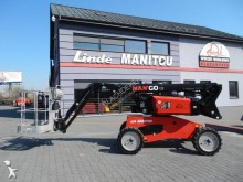 Manitou MAN GO12 Side shift integrated 4wd aerial platform used telescopic articulated self-propelled