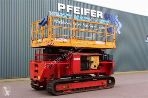 Hollandlift tracked Q135DL24-TR Diesel, Rough Terrain Crawler Scissor