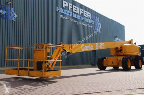 Genie S85/4WD Diesel, Drive, 27.7m Working Height, R aerial platform used self-propelled
