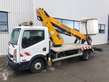 Nissan Cabstar 35.11 used telescopic articulated truck mounted