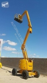 Haulotte telescopic articulated self-propelled HA 18 PX