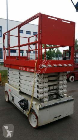 Scissor lift self-propelled aerial platform SAB B-137
