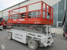 Hollandlift Q-135EL18 aerial platform used Scissor lift self-propelled