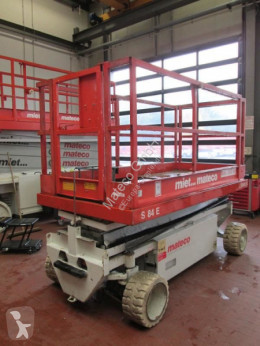 Hollandlift Y-64EL14 used Scissor lift self-propelled