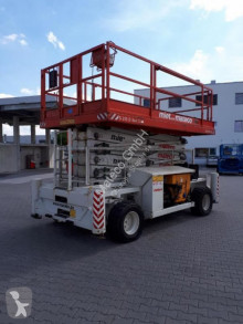 Hollandlift B-195DL25 4WD/P/N aerial platform used Scissor lift self-propelled