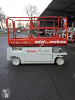MEC M 81-12 E aerial platform used Scissor lift self-propelled