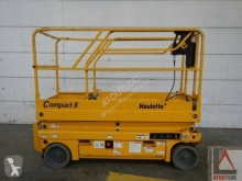 Used Scissor lift self-propelled aerial platform Haulotte Compact 8