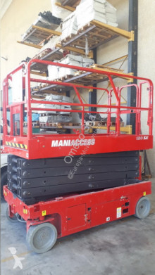 Manitou 120 SE aerial platform used Scissor lift self-propelled