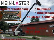 40.150 Teleskop* ROTO* Funk FB* 15 m - 4.000 kg selvkørend lift brugt
