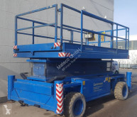 Hollandlift Q-135DL24 4WD/P/N aerial platform used Scissor lift self-propelled