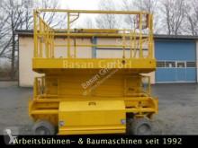 Plataforma elevadora HAB Scheren Arbeitsbühne S125 16E2WD, AH 12 plataforma automotriz de tijeras usada