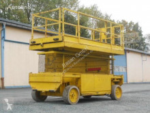 Liftlux Arbeitsbuhne SL 153 18E aerial platform used Scissor lift self-propelled