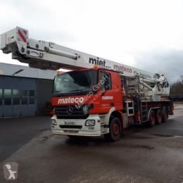 Plataforma elevadora camión con cesta elevadora Bronto S 62 MTD / DAIMLER ACTROS 2644