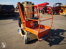 JLG Toucan 8E plataforma automotriz accidentada