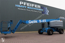 Nacelă autopropulsată Genie S45/4WD Diesel, Drive, 15.7m Working Height, J