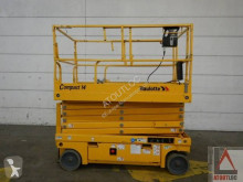 Haulotte Compact 14 aerial platform used Scissor lift self-propelled