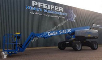 Genie S65XC Valid inspection, *Guarantee! Diesel, Dr aerial platform used self-propelled