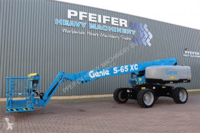 Genie self-propelled aerial platform S65XC Valid inspection, *Guarantee! Diesel, Dr
