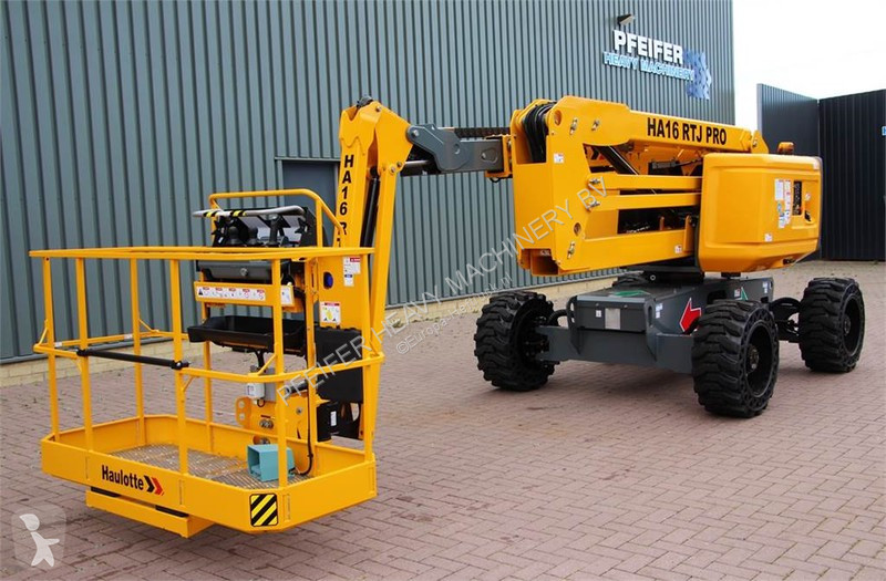 Voir les photos Nacelle Haulotte HA16RTJPRO Valid inspection, *Guarantee! 16 m Work