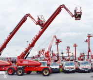 JLG aerial platform used telescopic articulated self-propelled