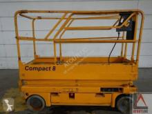 Haulotte Compact 8 plataforma automotriz de tijeras usada