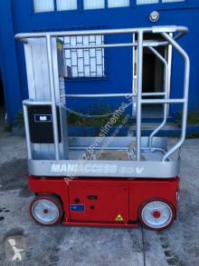 Plataforma elevadora Manitou 60 V Maniacess plataforma automotriz Mástil vertical usada