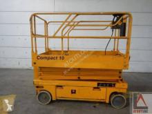 Plataforma elevadora plataforma automotriz de tijeras Haulotte Compact 10
