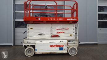 Plataforma elevadora HAB S 175-12 E 2WD plataforma automotriz de tijeras usada