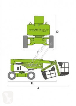 View images Niftylift HR 15 D aerial platform