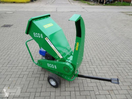 Broyeur forestier Eco8 Holzhäcksler Häcksler Schredder 15PS Benzin Motor Neu
