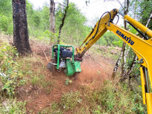 Nc Wurzelfräse forestry equipment used