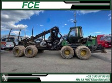 Material forestal Camión John Deere 1110E *ACCIDENTE*DAMAGED*UNFALL*