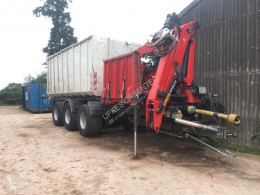 Material forestal Trituradora forestal 952 Mega / container carrier