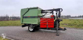 Forestry trailer VC 930/8 Chipper combi